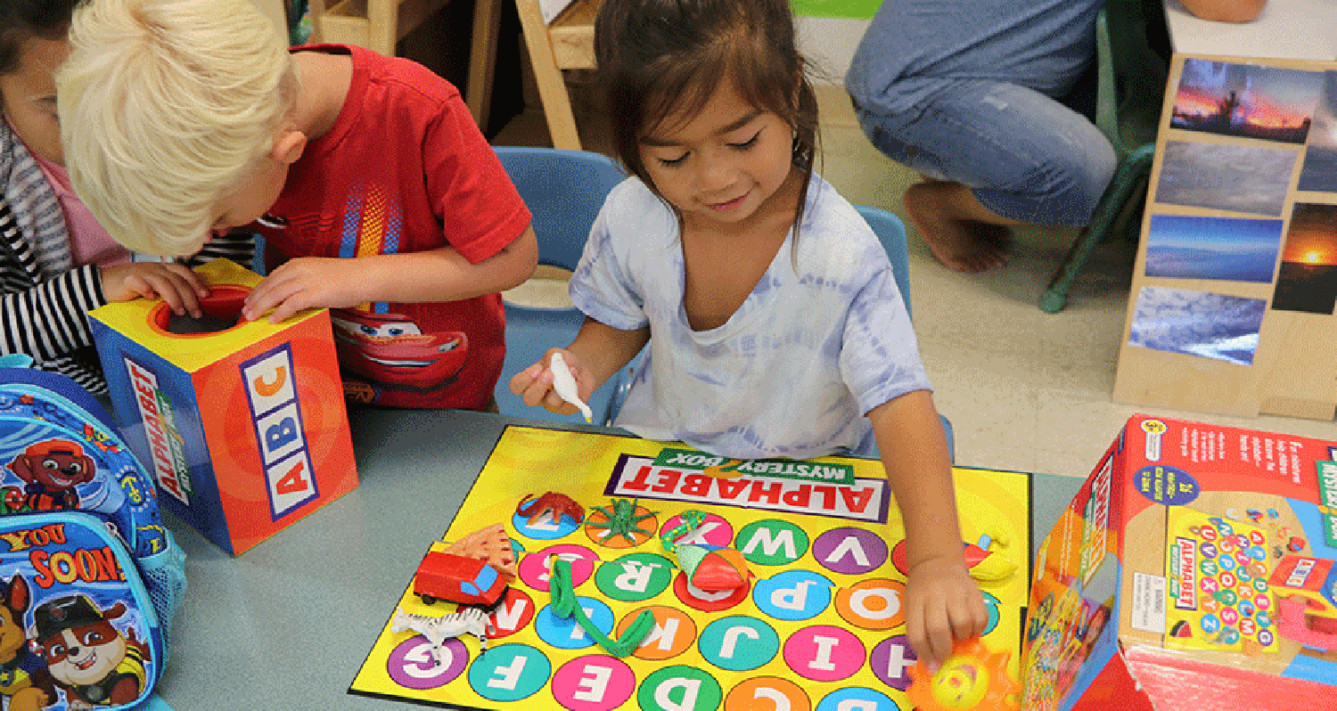 Playing Alphabets